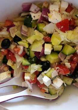 Görög saláta, ahogy én csinálom
