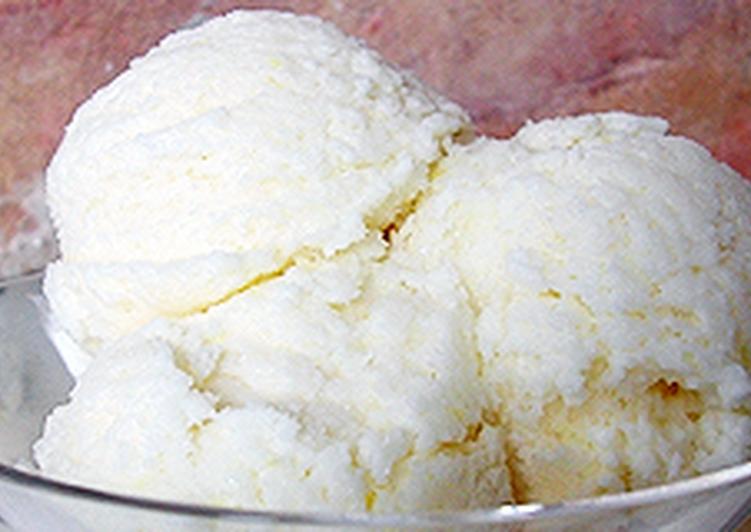 Citromfagylalt