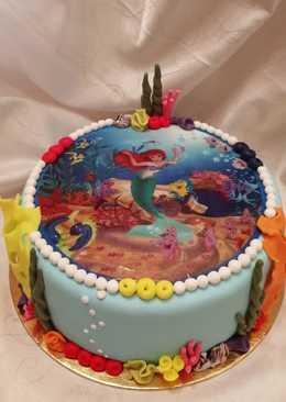 Ariel torta 🐚🐠