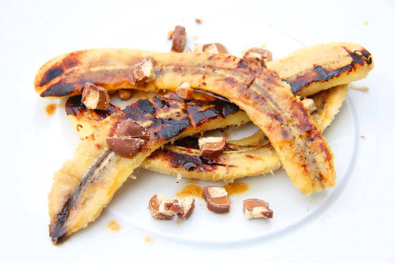 Banán desszert recept grillezve főfotó