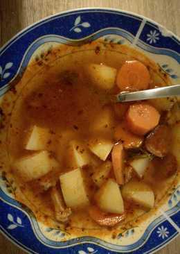Füstölt leves Reni módra