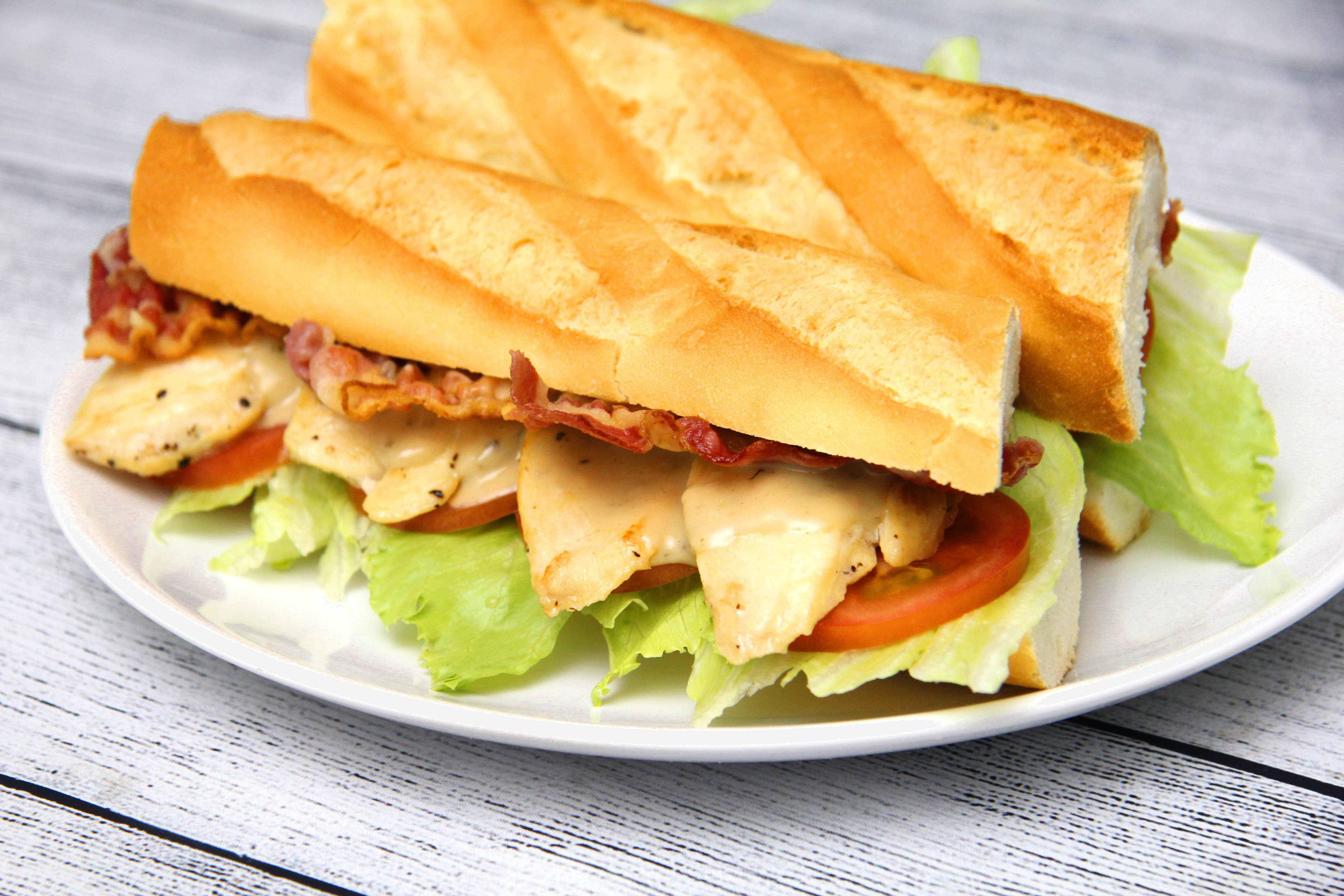 Caesar szendvics recept főfotó