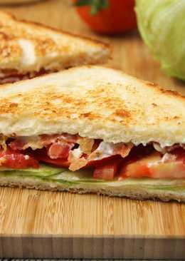 BLT szendvics recept (bacon-lettuce-tomato)