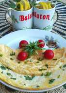 Sajtos omlett 🍳
