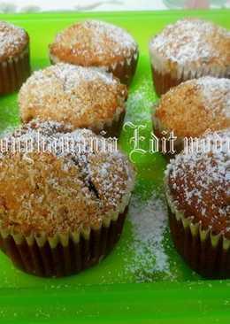 Banános csokis muffin