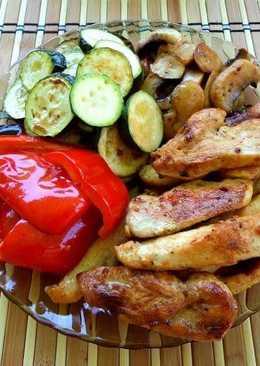 Mini grill tál