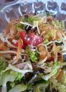 Sajtos magos saláta