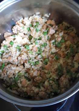 Gyors, borsós, rizses csirke