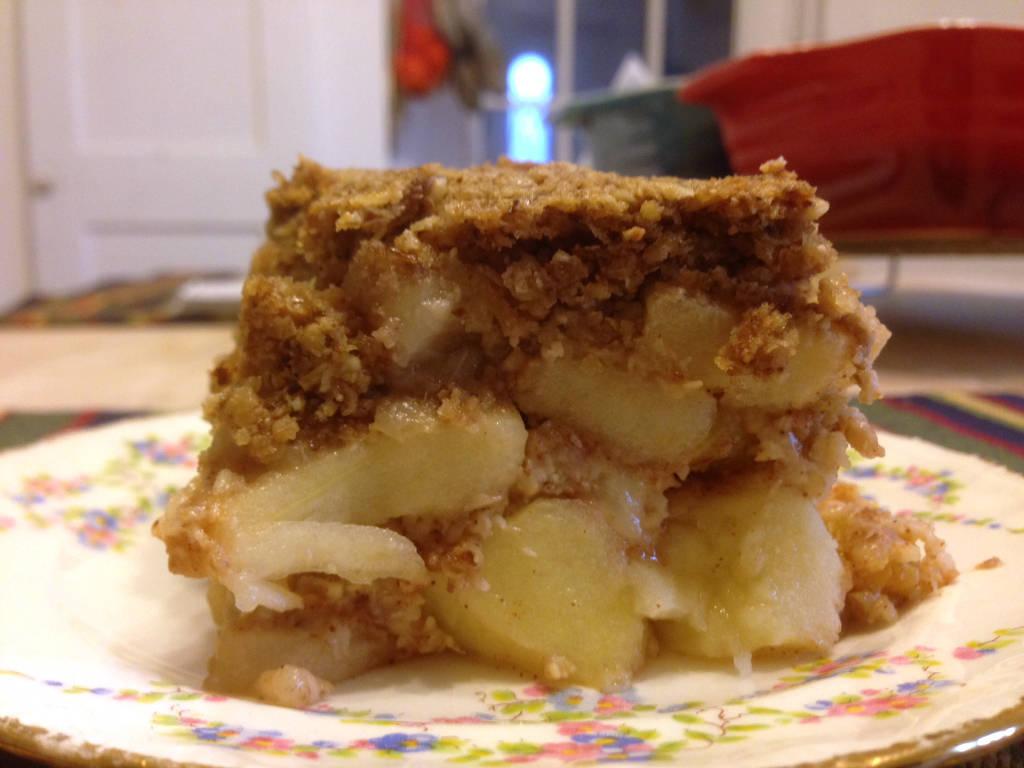 Reform mézes almás kocka recept főfotó