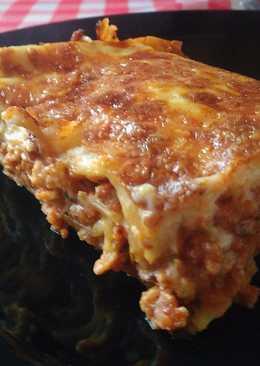 Lasagne bolognese házi tésztával