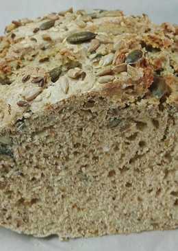 Magvas-rozsos kenyér kelesztés nélkül🍞