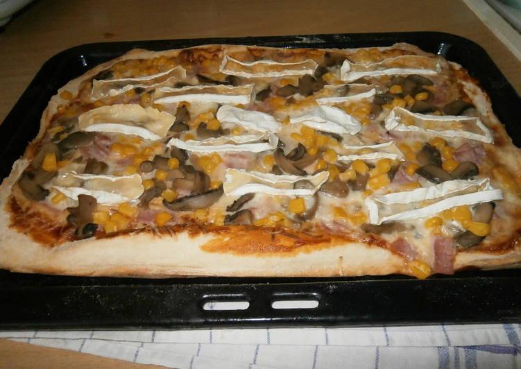 Egyszerű pizzatészta