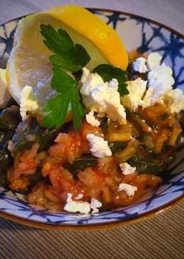Spenotos rizs (Σπανακόρυζο)