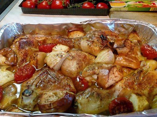 Különleges sütőben sült csirkecombok recept főfotó