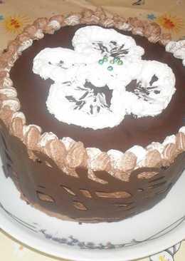 Sport csoki torta