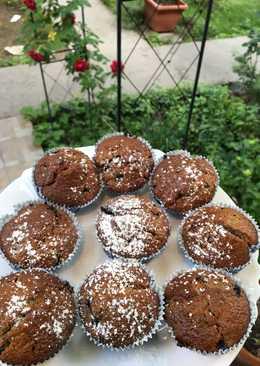 Fehér csokis áfonyás muffin ✨