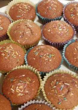 Forrócsokis muffin