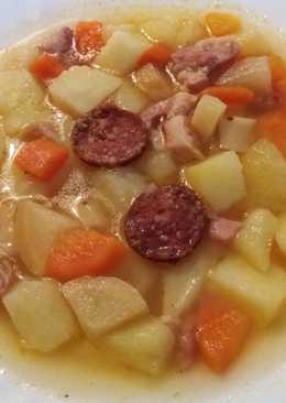 Krumplileves szalonnával 🌞