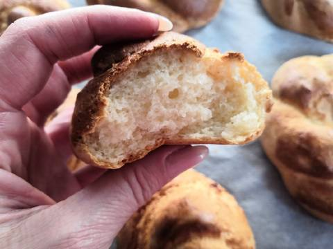 Gluténmentes kalácskoszorú és briós recept lépés 8 foto