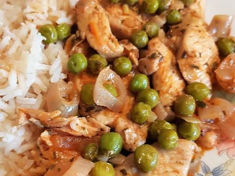 Zöldborsós csirkemell ragú recept lépés 5 foto