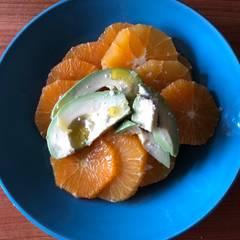 Cooksnap af Blodappelsinsalat