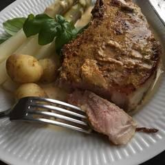 Cooksnap af Skønne frie svin i sennep