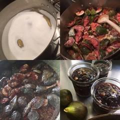 Cooksnap af Figensyltetøj med glaserede valnødder