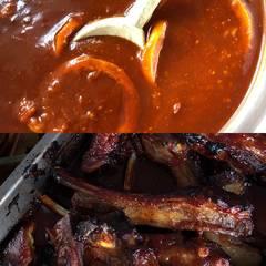 Cooksnap af BBQ sauce til spareribs og andet