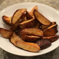Sprøde ovnbagte kartoffelbåde