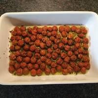 Semi tørret tomater