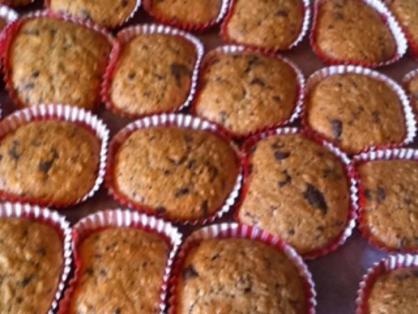 Banan-muffins