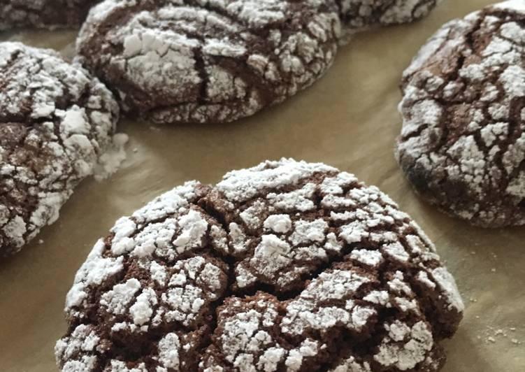 Rynkede chokoladekager