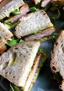 Tonkatsu - japansk sandwich med schnitzel