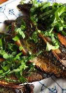 Stegt makrel med ramsløg