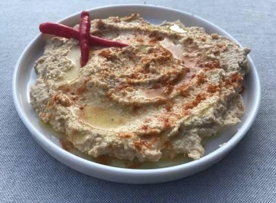 Spicy hummus uden tahini - Rimmers Køkken