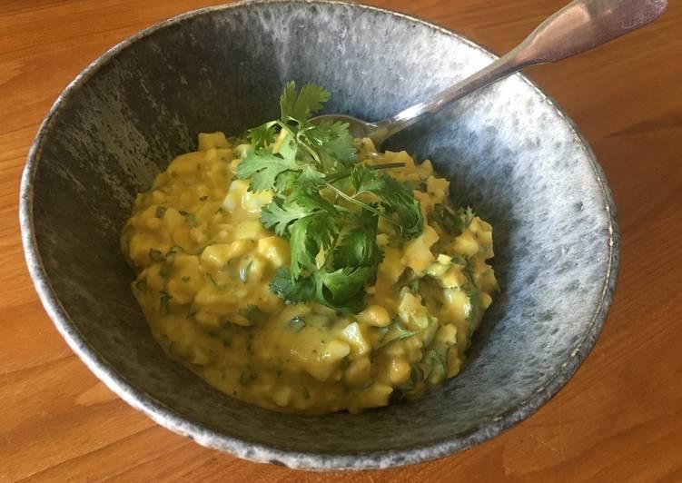 Æggesalat med karry og koriander