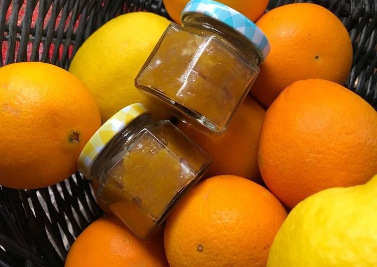 Appelsin- og citronmarmelade (med chinotto) - Rimmers Køkken