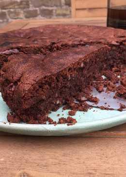 Chokoladekage med mandelmel