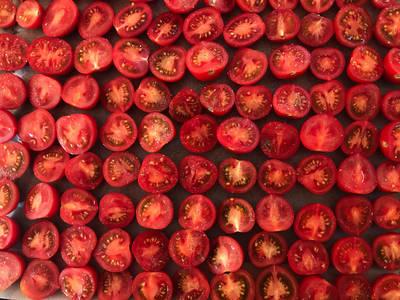 Ovntørrede tomater (semidried)