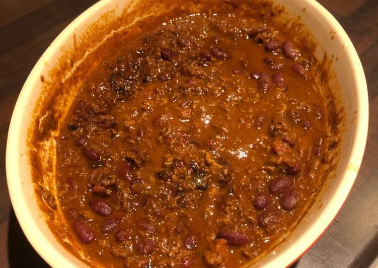 Chili con carne (Trykkoger)