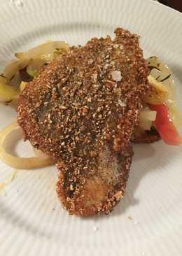 Æblefisk på rugbrød