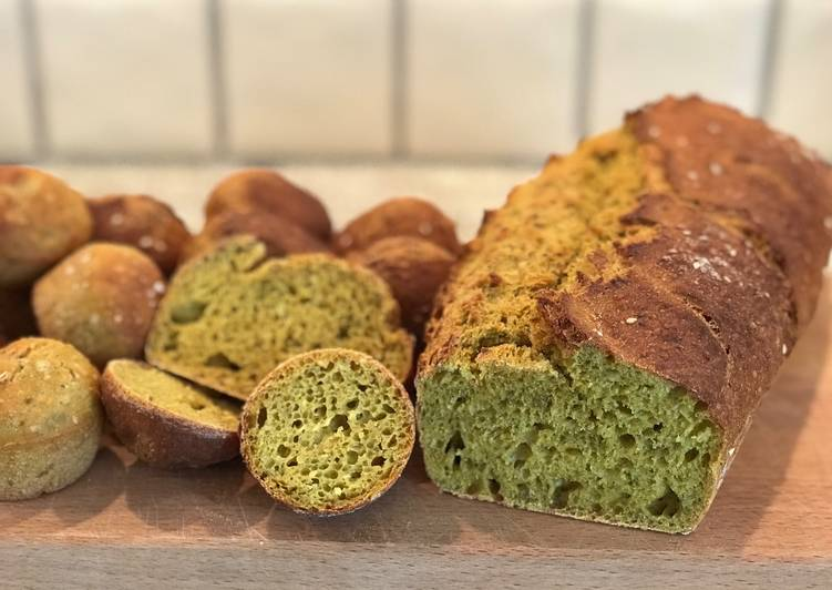 Brød med chia og krydderier - African bread
