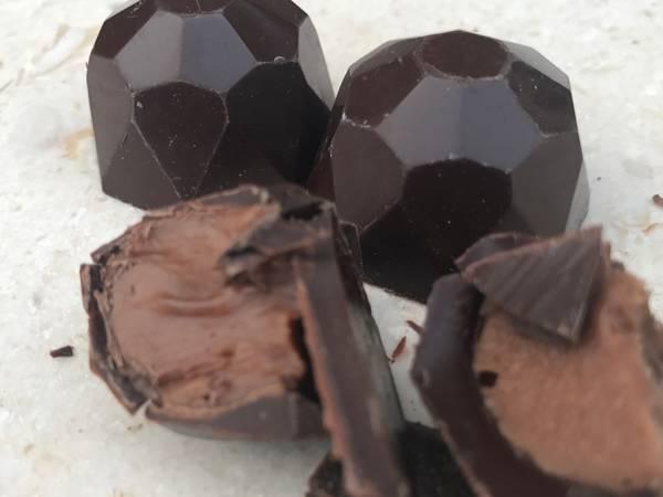 Baileys trøffel til fyldt chokolade eller macarons- Rimmers Køkken