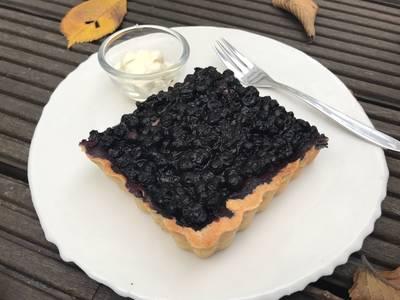 Anita's franske blåbærtærte - Rimmers Køkken