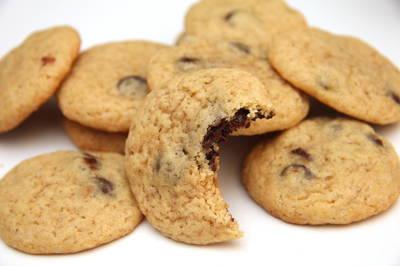 Amerykańskie ciasteczka z czekoladą (chocolate chips cookies)