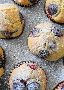Muffiny z Wiśniami
