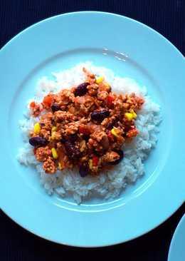 Chili con carne drobiowe