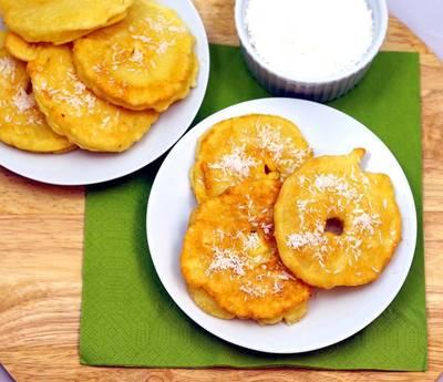 Ananasy w cieście