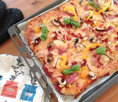 Hemlagad pizza