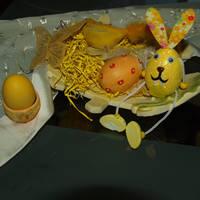 Πασχαλινά αυγά με ρύζι